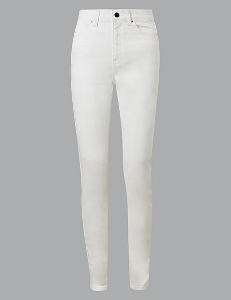 Smart Stretch High Waist Skinny Leg Jeans