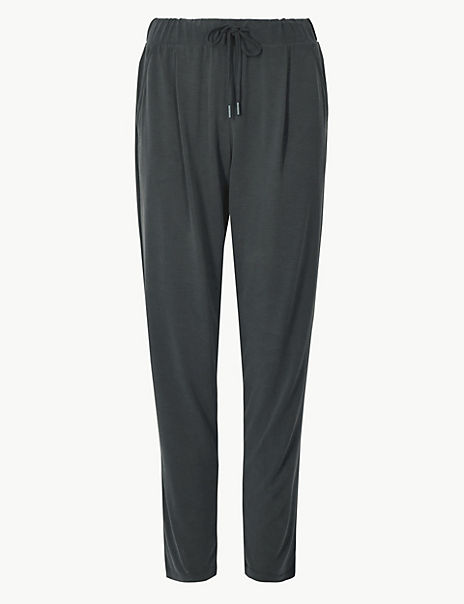 Modal Rich Tapered Leg Trousers