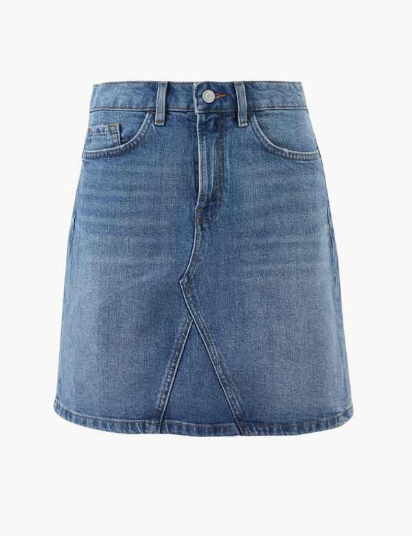 e9005fdee1 Denim Mini Skirt. Per Una