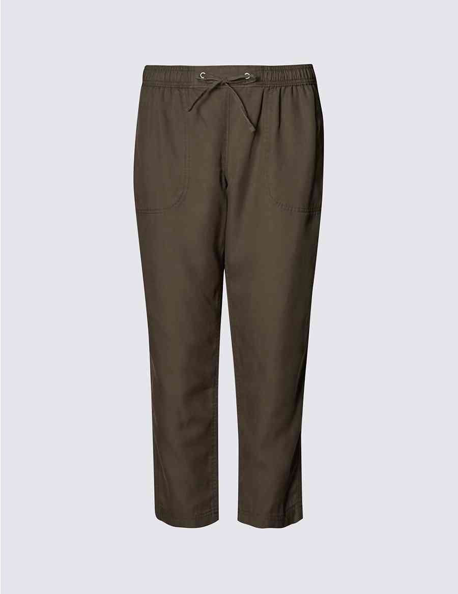 44896d1322db Product images. Skip Carousel. PLUS Tapered Leg Cropped Track Pants