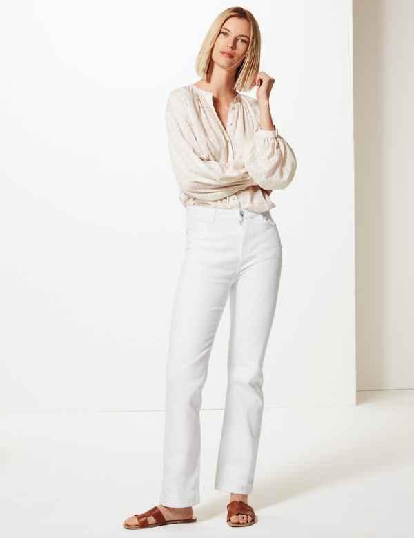 0377a9f928ea6 Womens Straight Leg Jeans| M&S