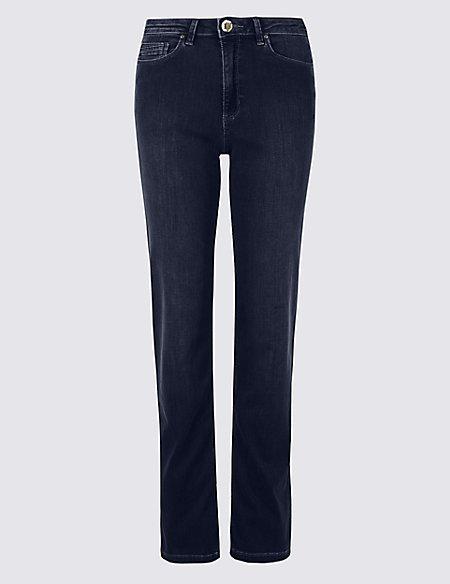 e6529619e08 Sculpt   Lift Roma Rise Straight Leg Jeans
