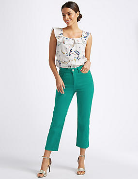 Sculpt & Lift Roma Rise Cropped Jeans
