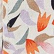 Short décontracté en lin à imprimé fleuri, MULTI, swatch