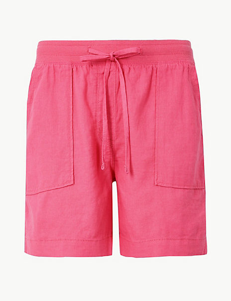 Linen Rich Shorts