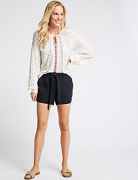 Pure Cotton Casual Shorts