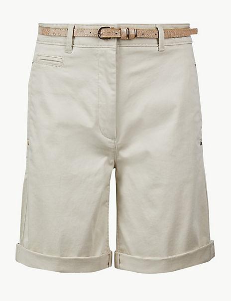Cotton Rich Chino Shorts
