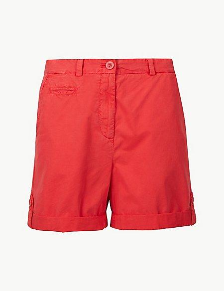 Pure Cotton Chino Shorts