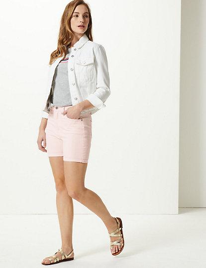 Sculpt & Lift Denim Shorts | Skirts | Marks and Spencer DE