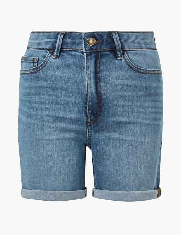 37a802b27435 Sculpt   Lift Denim Shorts. M S Collection