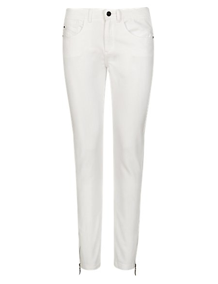 X-Fit Ankle Zipped 7/8 Jeans
