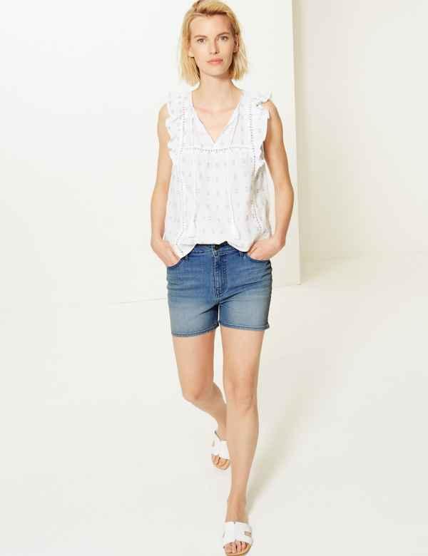 a7da544405ef Womens Shorts | Ladies Denim, Chino & Cargo Shorts | M&S