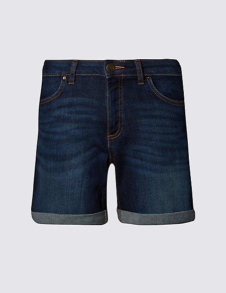 Relaxed Denim Shorts