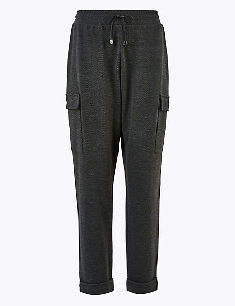 Combat Tapered Ankle Grazer Trousers