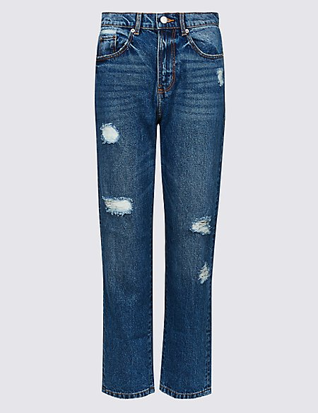 LIMITED EDITION High Waist Straight Leg Jeans - - 6/Regular Sale Top Quality Free Shipping 2018 New For Sale Outlet Very Cheap Buy Cheap Explore zaxT1dNp9
