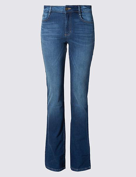Ozone Slim Bootcut Jeans