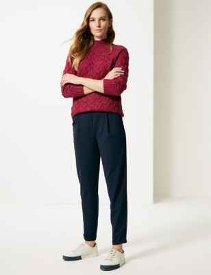 MARKS AND SPENCER // SLIM LEG JOGGERS //<BR>£25.00
