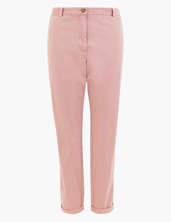 New Womens Marks /& Spencer Orange Tapered Trousers Size 24 22 20 18 14 12 8