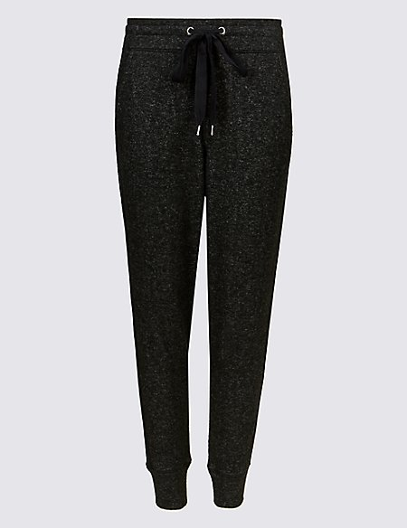 Textured Slim Leg Joggers