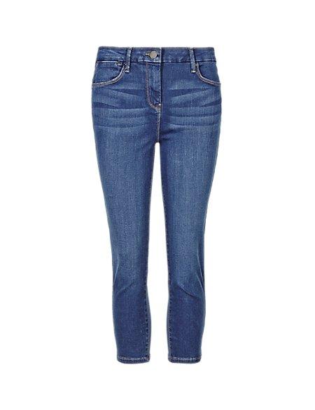 Sculpt & Lift Crop Jeans
