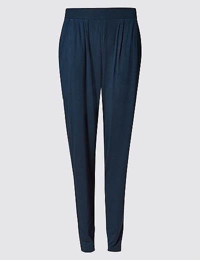 bdb92624549 Jersey Tapered Leg Trousers