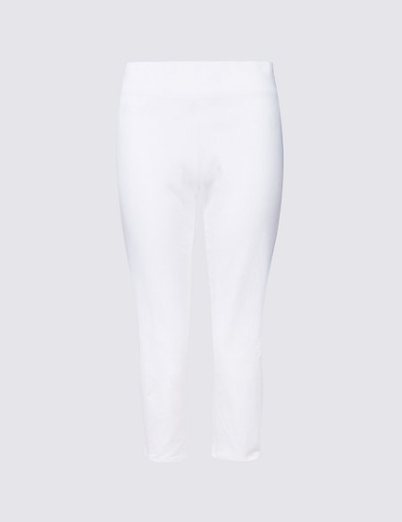 Cotton Rich Cropped Joggers