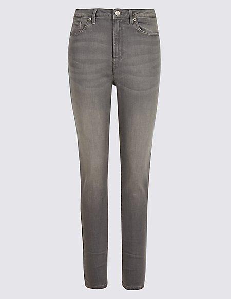 High Waist Super Skinny Leg Jeans