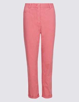 Pure Cotton Chinos by Marks & Spencer