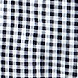Pure Cotton Checked Peg Trousers , NAVY MIX, swatch