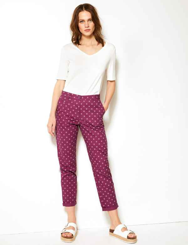 7996bd432310 Womens Chinos | Chino Trousers & Pants For Women | M&S