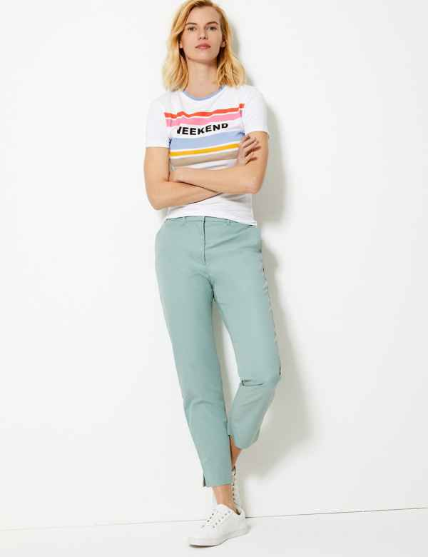 c2dba6a1291d Womens Chinos | Chino Trousers & Pants For Women | M&S