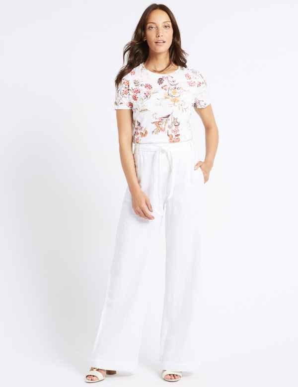 5ca630125 Womens Linen Clothing   Ladies Linen Suits & Tunics   M&S