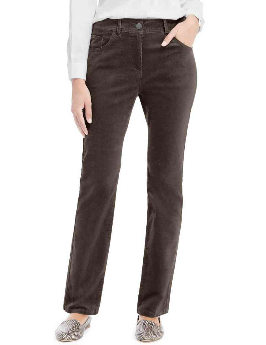 6271da6dfc3 Cotton Rich Sculpt   Lift Straight Leg Corduroy Trousers
