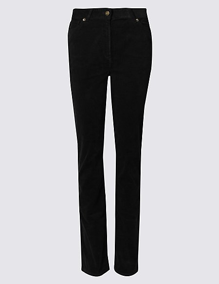 c08677b0bfd Product images. Skip Carousel. Cotton Rich Straight Leg Corduroy Trousers