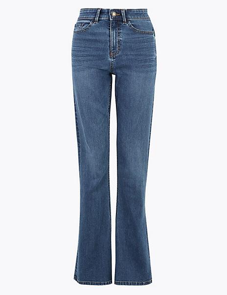 Eva Bootcut Mid Rise Jeans
