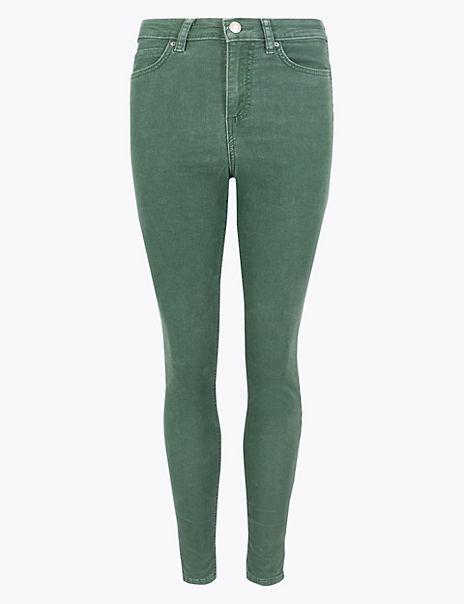 Corduroy Ankle Grazer Trousers