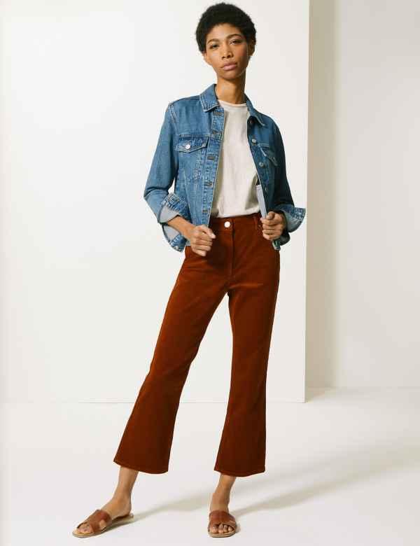 a4b3009c2d903 Trousers, Chinos & Leggings | Women | M&S IE