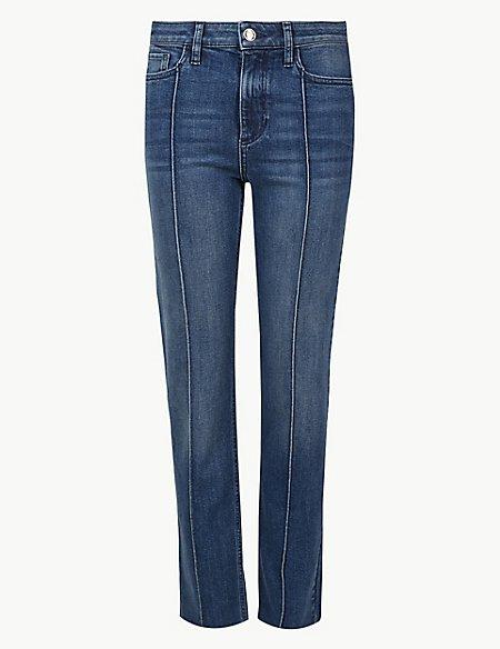 Cotton Rich Straight Leg Jeans