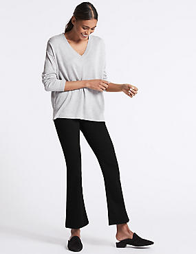 Sculpt & Lift Mid Rise Slim Boot Cut Jeans