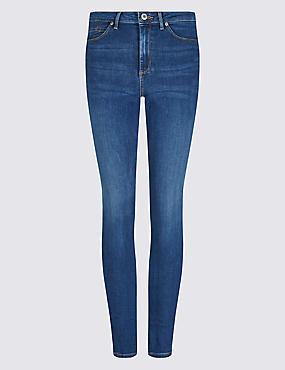 Sculpt & Lift Mid Rise Skinny Leg Jeans