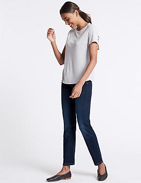 Sculpt & Lift Straight Leg Jeans