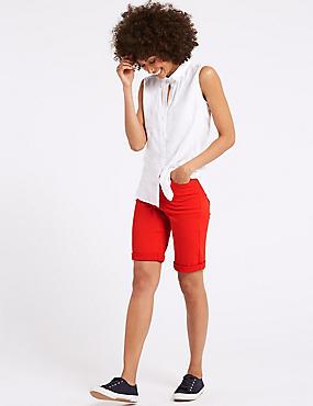 Sculpt & Lift Denim Shorts