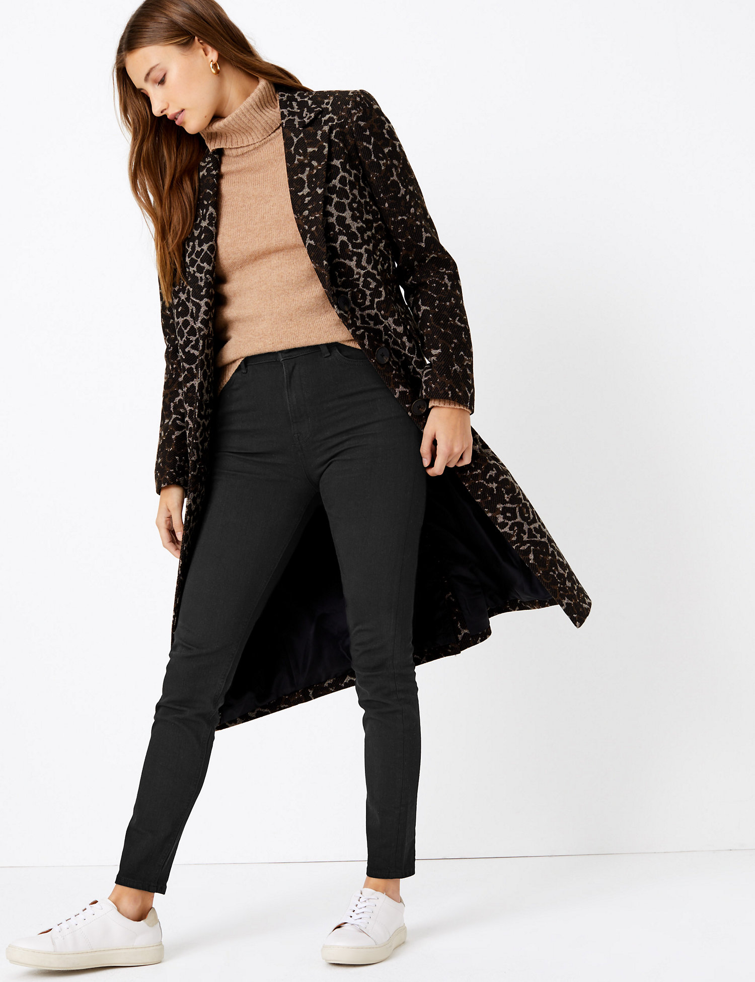 M&S COLLECTION Magic Shaping High Waisted Skinny Jeans