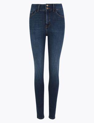 Magic Sculpt High Waist Skinny Jeans by Marks & Spencer