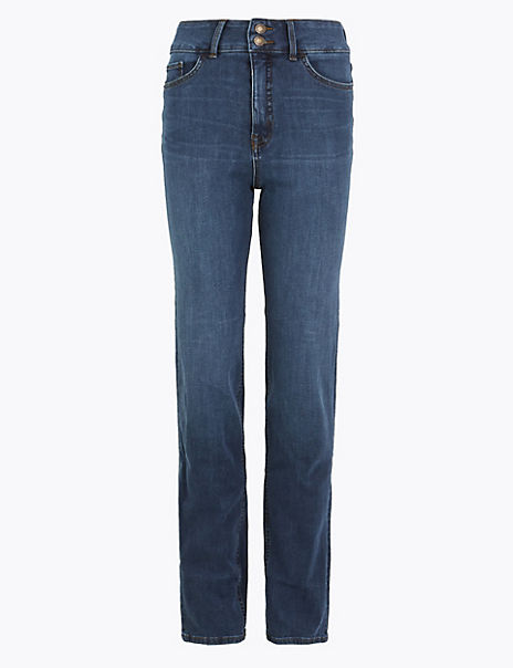 Magic Sculpt High Waist Straight Fit Jeans