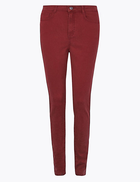 Super Soft Skinny High Waist Trousers
