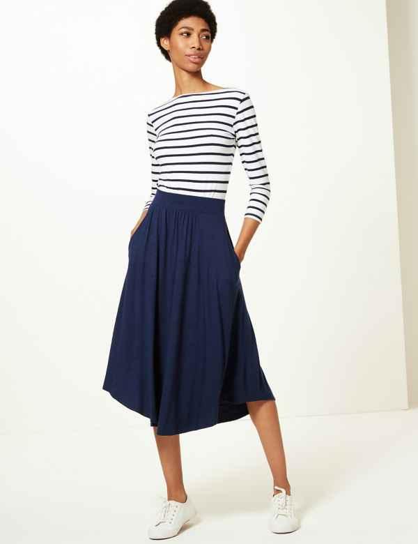 41763de2c Womens Blue Skirts | Blue Skirts for Ladies | M&S
