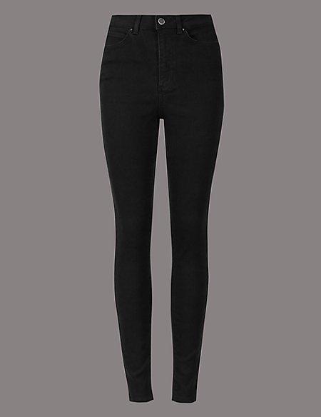 High Waist Skinny Leg Jeans
