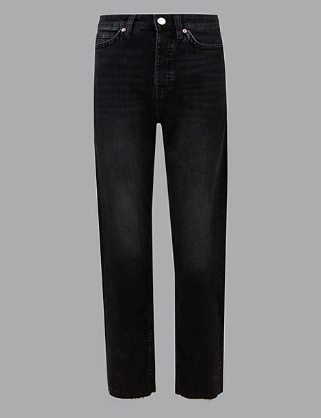 30211e155201c Product images. Skip Carousel. High Rise Straight Leg Ankle Grazer Jeans