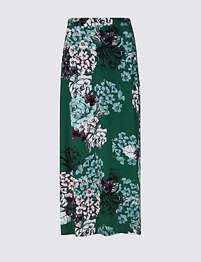 Jersey Pencil Maxi Skirt